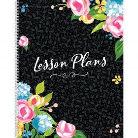 Fancy Floral Lesson Plan Book