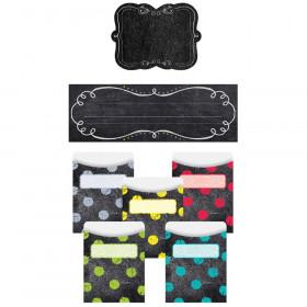 Chalk It Up! Name Plate/Label/Pockets Combo Set