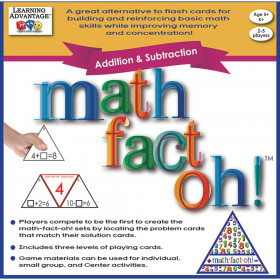 math-fact-oh! Addition & Subtraction Game