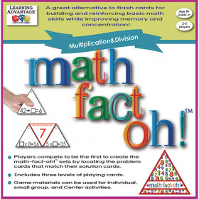 math-fact-oh! Multiplication & Division Game