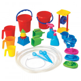 Water Play Tool Set, 27 Pieces
