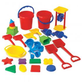 Sand Play Tool Set, 30 Pieces