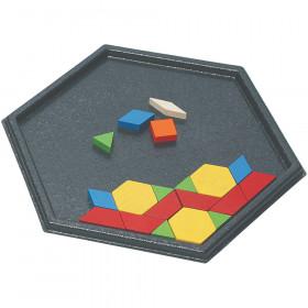 Hexagon Pattern Block Tray