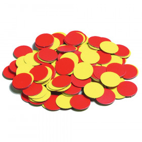 Magnetic Two-Color Counters, Pack of 200