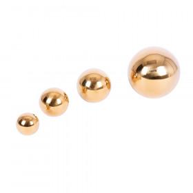 Sensory Reflective Gold Balls, Set of 4