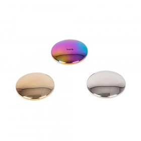 Sensory Reflective Sound Buttons - Set of 3 - Mirrored Discs for Babies and Toddlers - Sensory Stacking Toy