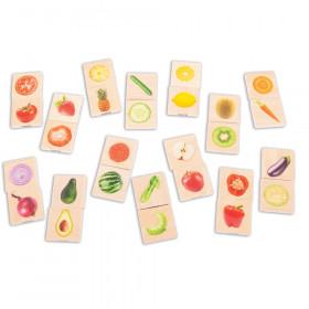 Wooden Fruit & Vegetable Match