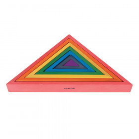 Wooden Rainbow Architect Triangles