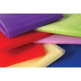 Organza Fabric, 7 Pieces