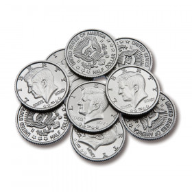 Half Dollar Coins, Set of 50