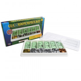 Play Money Kit, 500 Bills, 500 Coins