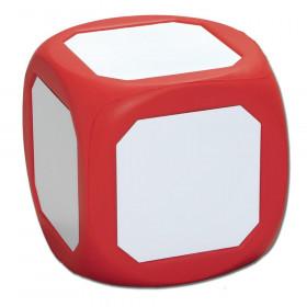 """Magnetic Dry Erase Die, 4.75"""", Red"""