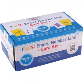 F.U.N. Empty Number Line, Cards Only, Grades 2-3