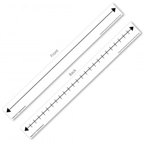 F.U.N. Student Empty Number Line, Set of 10