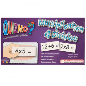 Quizmo Game: Multiplication & Division, Grades 3+