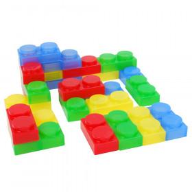 SiliShapes Soft Bricks, Set of 24