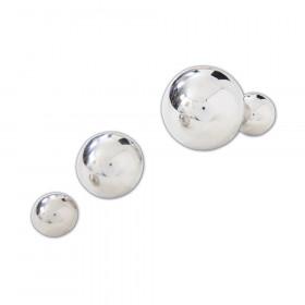 Sensory Reflective Balls, Silver