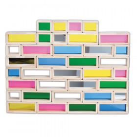 Rainbow Bricks, Set of 36
