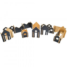 The Happy Architect, Wooden Building Set, Create N' Play, 28 Pieces