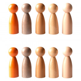 Peg People of the World - Set of 10