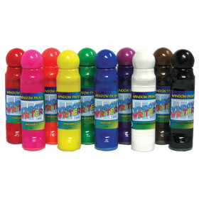 Window Writers Paint, 10 Colors, 48 ml each