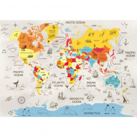 World Map With Augmented Reality