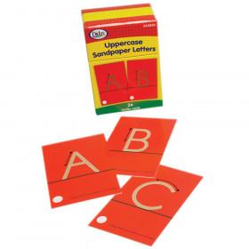 Tactile Sandpaper Uppercase Letters