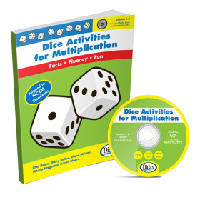 Dice Activities For Multiplication Resource Book Gr 3-6