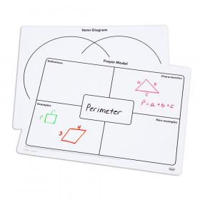 Frayer Model & Venn Diagram Write-On/Wipe-Off Mats