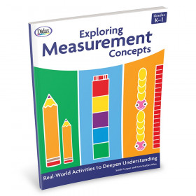 Exploring Measurement Concepts Activity Book, Grades K-1