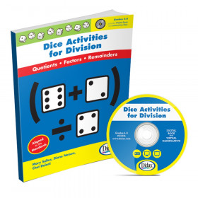 Didax Dice Activities for Division, Grades 4-6