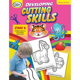 Didax Developing Cutting Skills Book, PreK-K