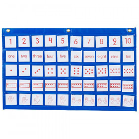 Didax Number Path Pocket Chart with Cards