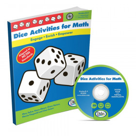 Dice Activities for Math Book & CD