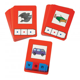 CVC Word Building Cards, 24 cards