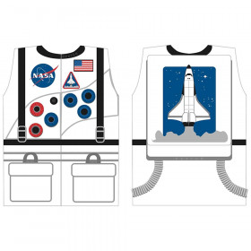 Astronaut Dress-Up, White