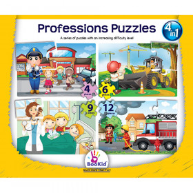 Professions 4 In 1 Puzzles
