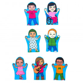 Courage Kids Puppet, Set of 7