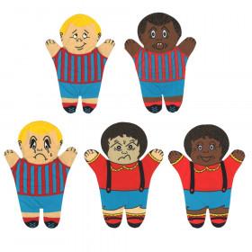 Feelings Hand Puppets, Set of 5