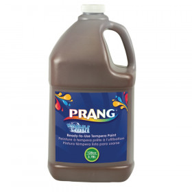 Washable Tempera Paint, Brown, 1 Gal