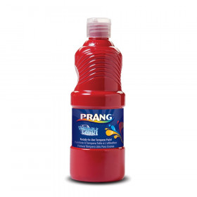 Prang Washable 16 oz Paint, Red