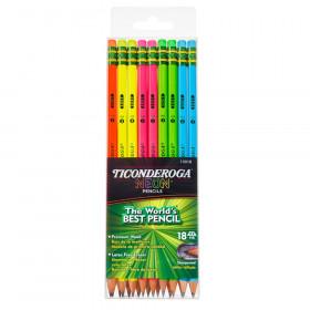 Neon Pencil, 18 Count