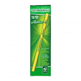 Ticonderoga Laddie Pencils without Eraser, 12/pkg