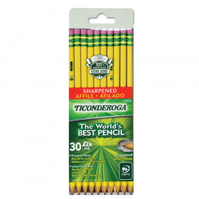 Ticonderoga No 2 Pre Sharpened 30Pk