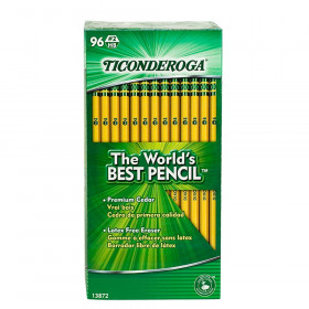 No. 2 Pencils, Unsharpened, Pack of 96