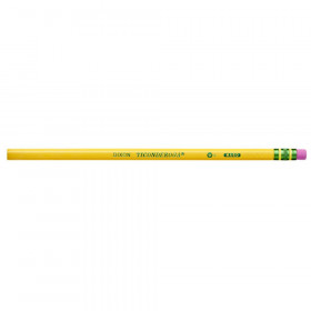 Original Ticonderoga Pencils, No. 3 Hard Yellow, Unsharpened, Box of 12
