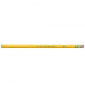 Original Ticonderoga Pencils, No. 4 Extra Hard Yellow, Unsharpened, Box of 12