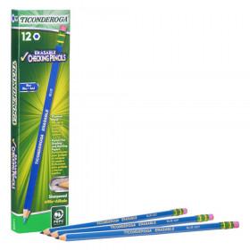 Erasable Colored Pencils, Blue, Pack of 12