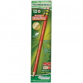 Ticonderoga Erasable 12Ct Colored Pencils Carmine Red