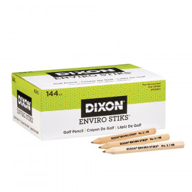 EnviroStiks Golf Pencils, 144 Count